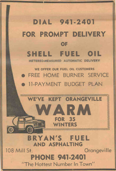 Fuel Suppliers Shelburne Ontario