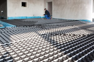 Hydronic Floor Heating Installation Bryan's Fuel Orangeville