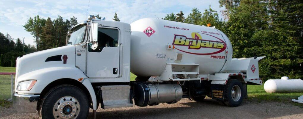 How to care for a propane tank from Bryan's Fuel Orangeville